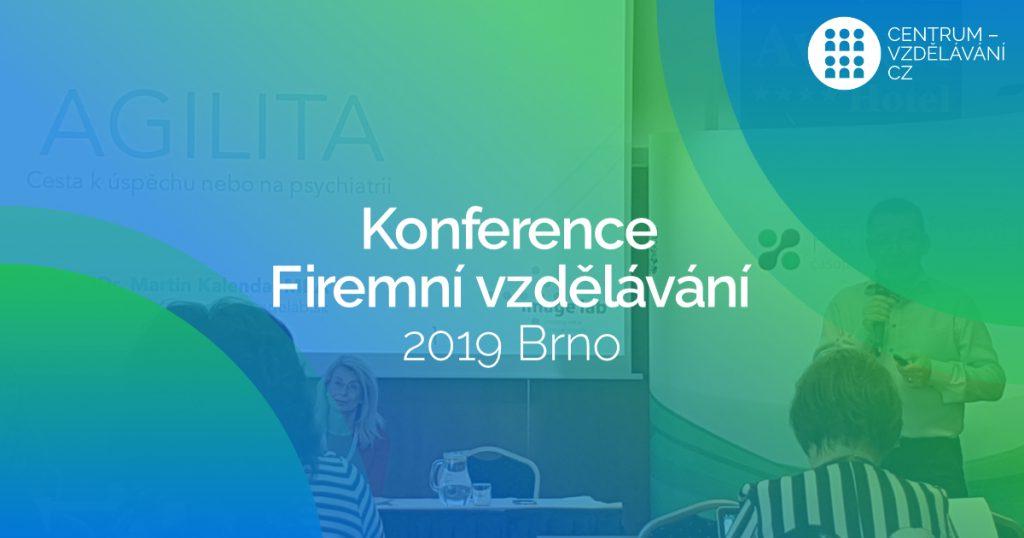 Co nového ve firemním vzdělávání? - Konference Firemní vzdělávání 2019