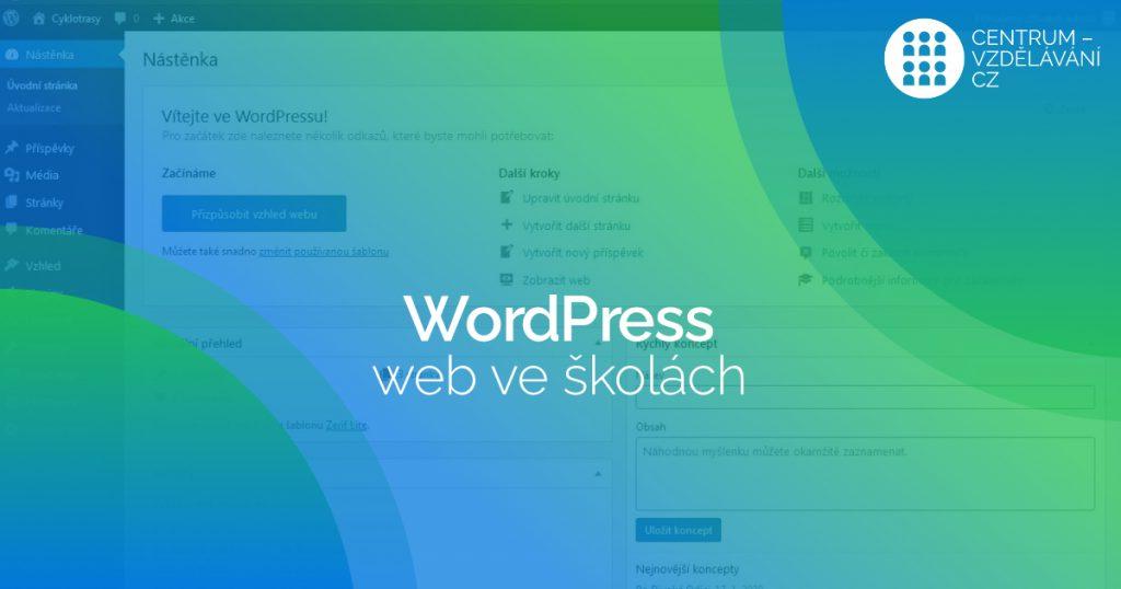 DVPP WordPress web ve skolach