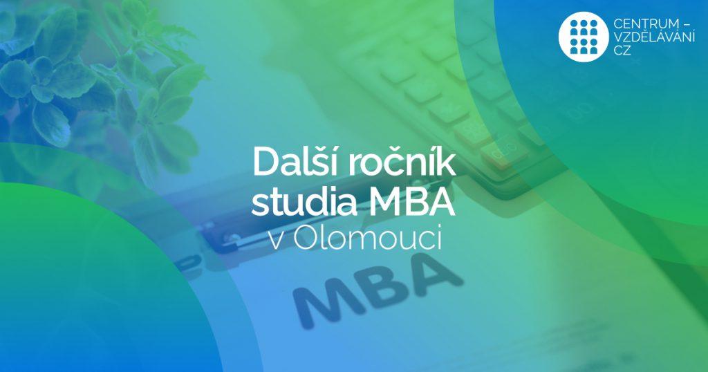 Další ročník studia MBA v Olomouci