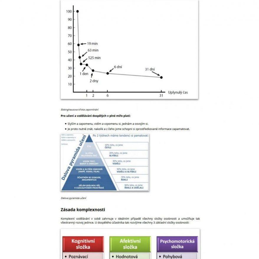 Ukázka z lekce Didaktické zásady kurzu Profesionální lektor