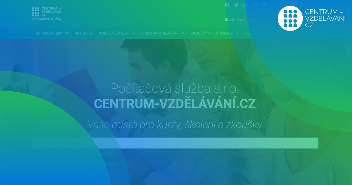 Nový-web-CENTRUM-VZDĚLÁVÁNÍ.CZ