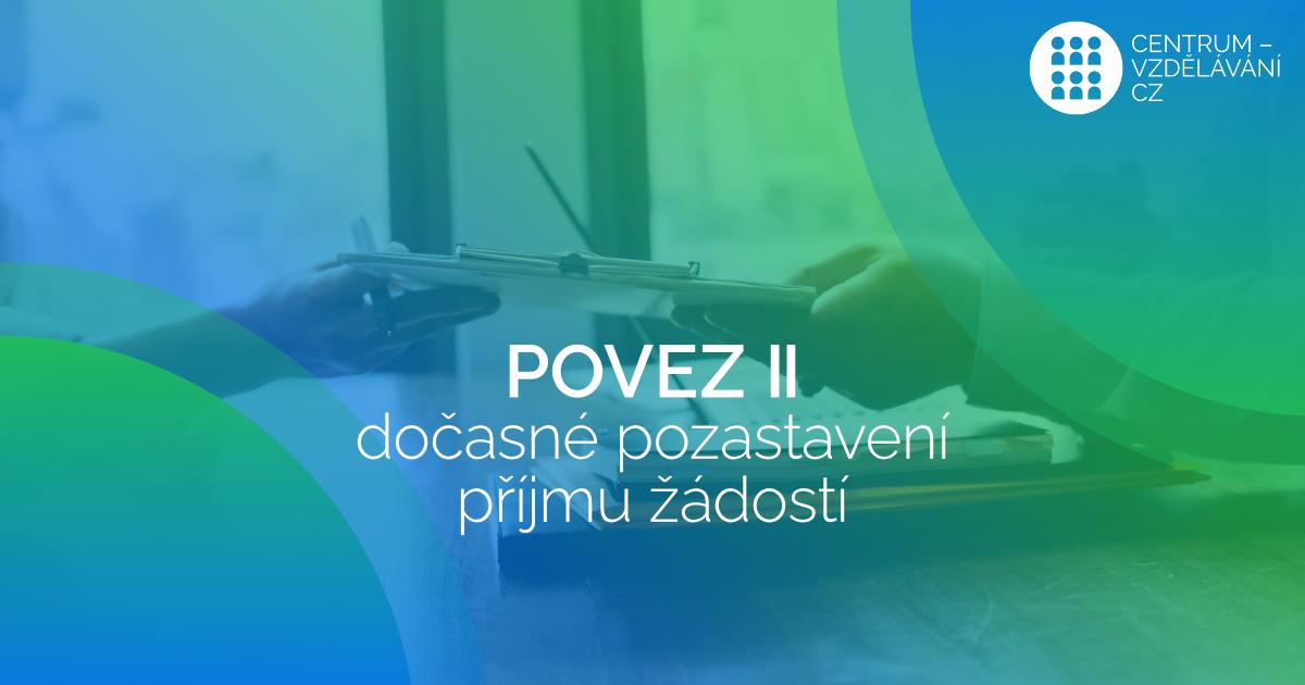 POVEZ_II-pozastaveni-prijmu-zadosti