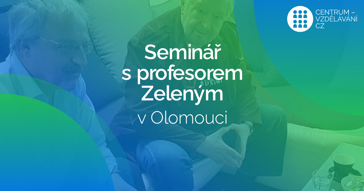 Profesor Milan Zelený bude přednášet na Akademii DM