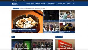 Nový web TV Přerov - školení WordPress