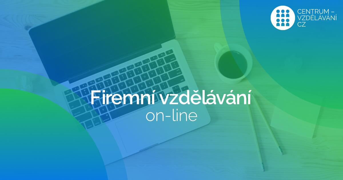 Firemní vzdělávání on-line