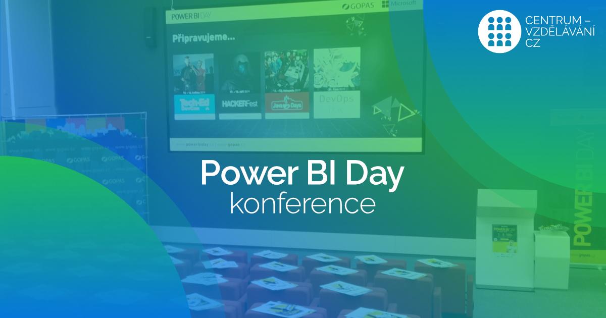 Konference POWER BI day