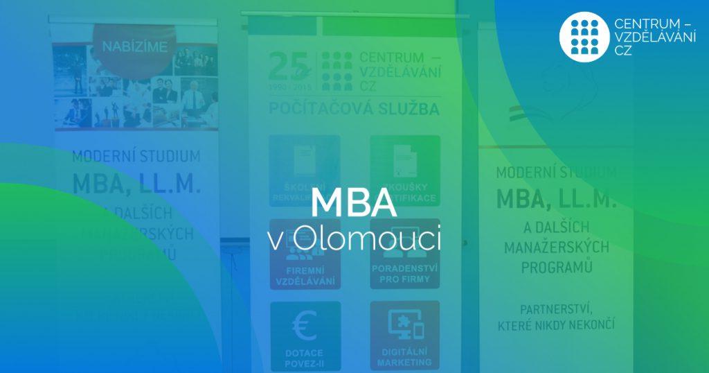 MBA v Olomouci