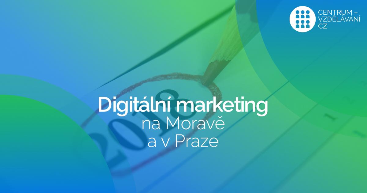digitálního marketingu na Moravě (+ Praha)