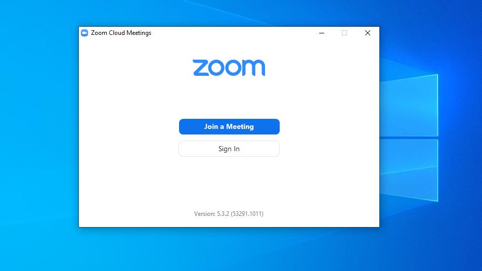 zoom - úspěšné nainstalovaná aplikace a připravena pro výuku