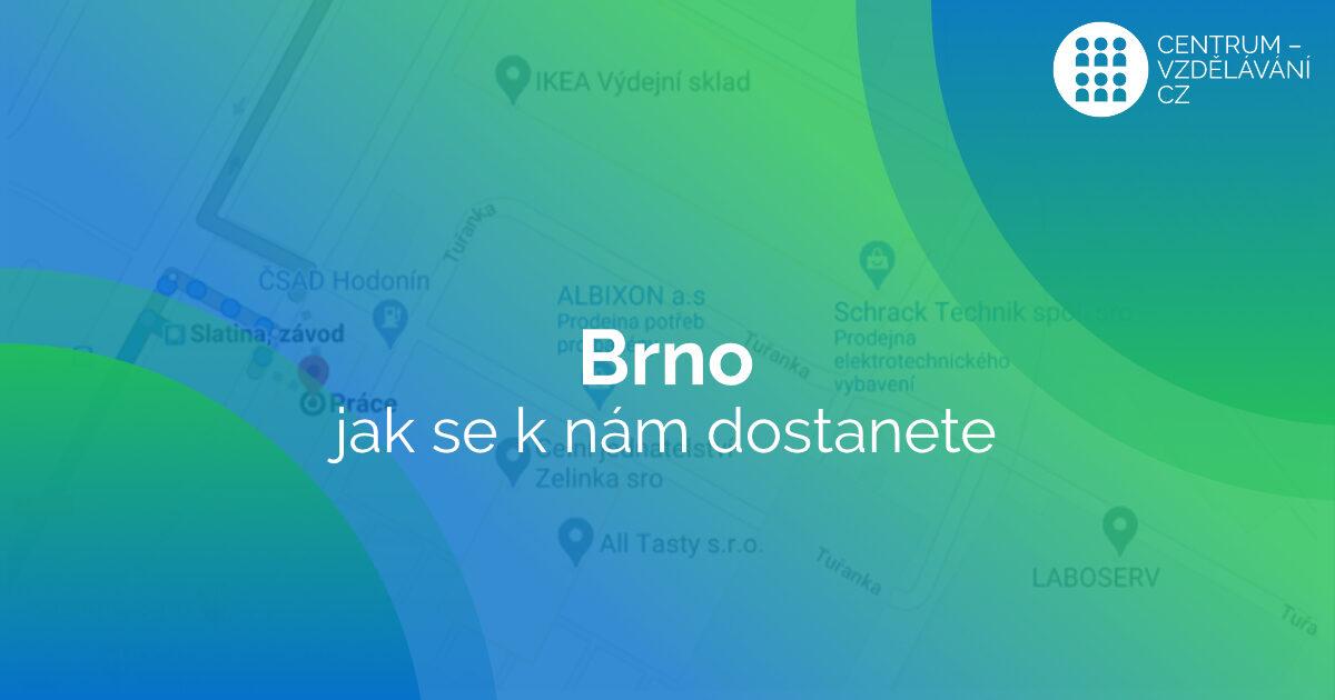 centrum-vzdělávání.cz - počítačová služba s.r.o. - brno - jak se k nám dostanete