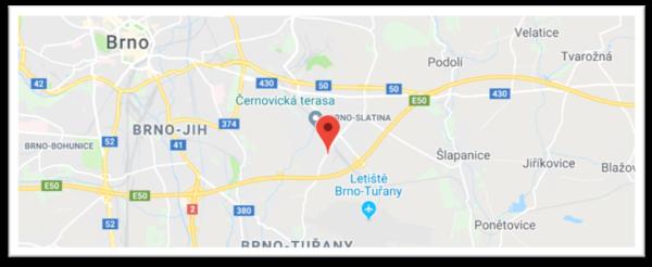 CENTRUM-VZDĚLÁVÁNÍ.CZ - Brno - jak se k nám dostat